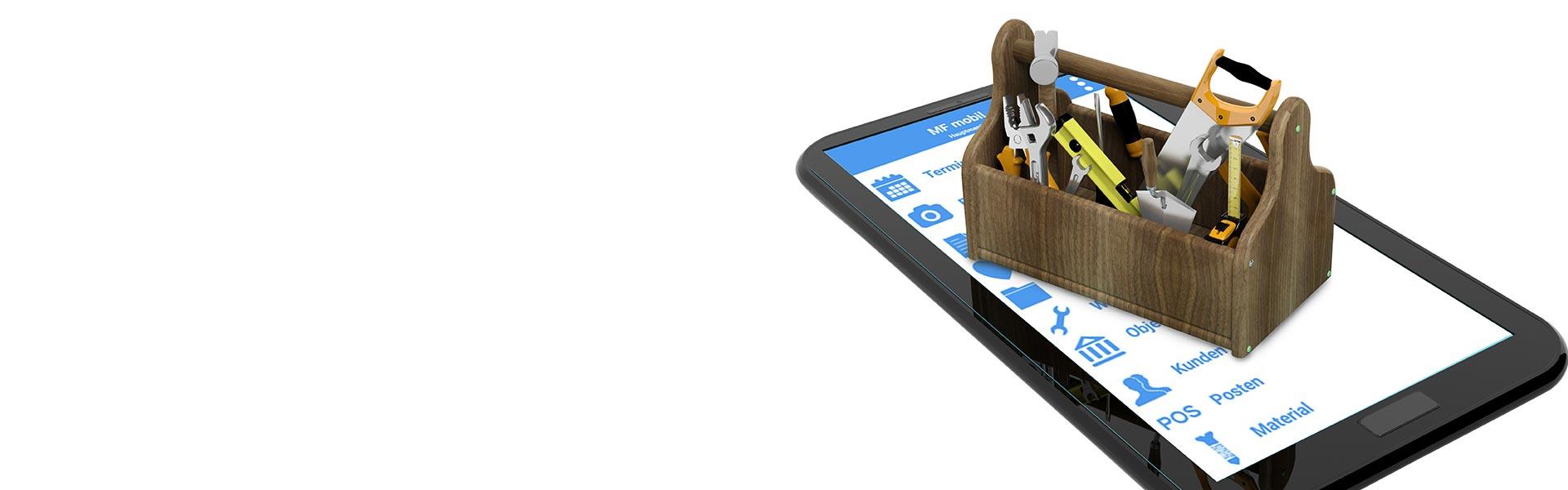 Die Dachdecker-App unserer Software für Dachdecker überzeugt Profis.