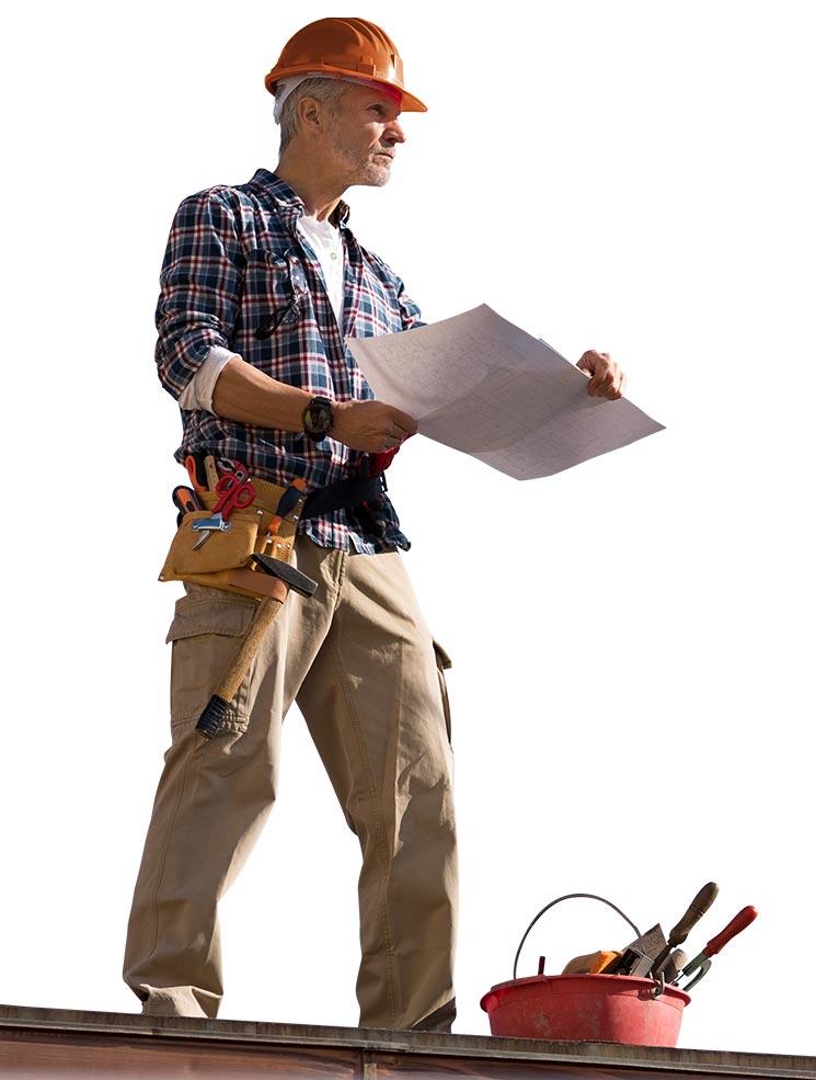 Die Software für Dachdecker bietet Ihnen den vollen Überblick zu jeder Zeit.