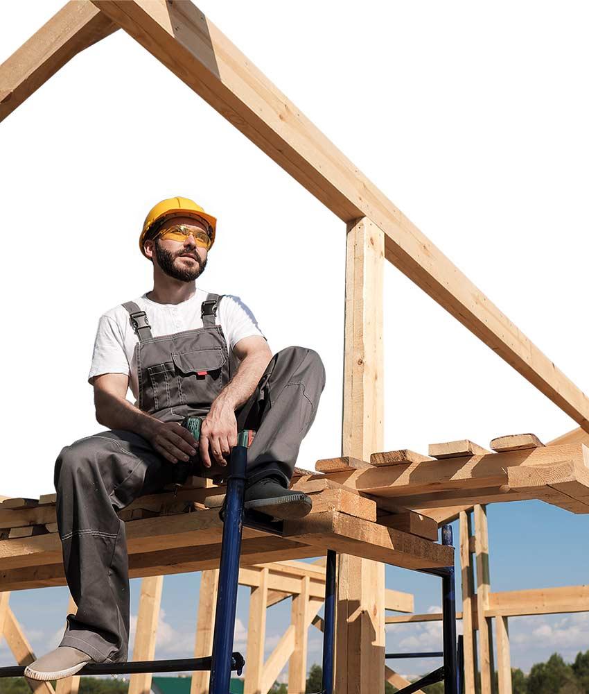 Unsere Software unterstützt Dachdecker - MF Dach